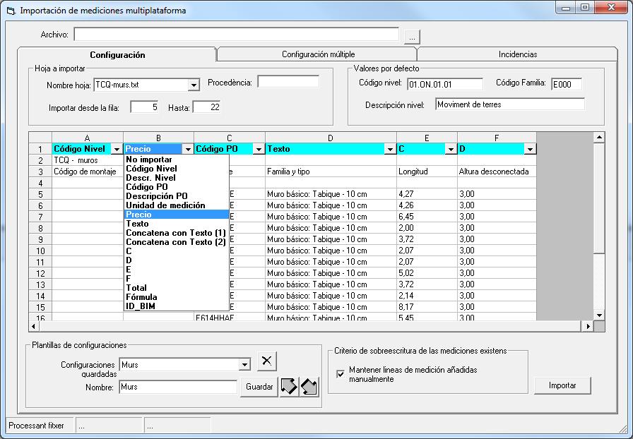 TCQ, software para trabajar en BIM 5D