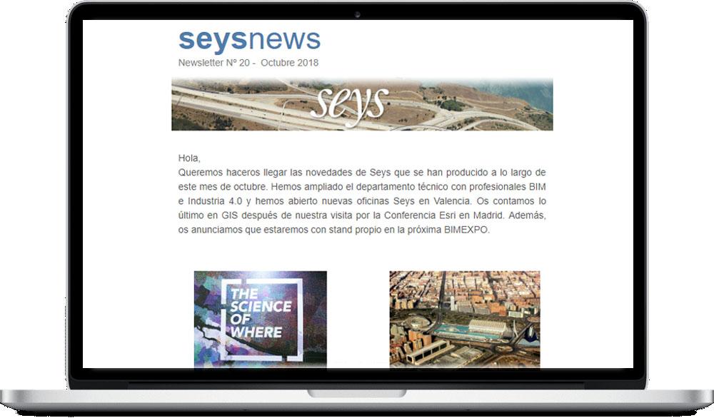 Seysnews de octubre 2018