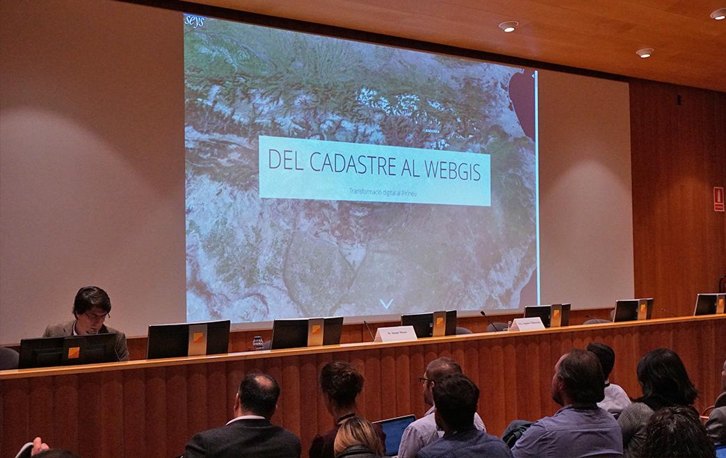 Conferencia Esri Presentación Cadastre Andorra Seys