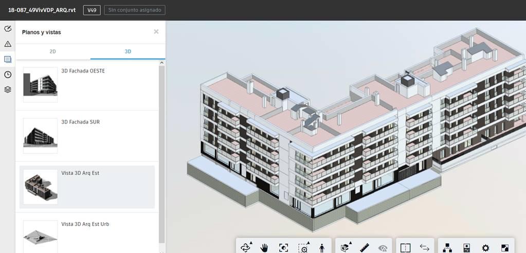 Ejemplo implantación BIM en promoció viviendas SEYS - BIM360